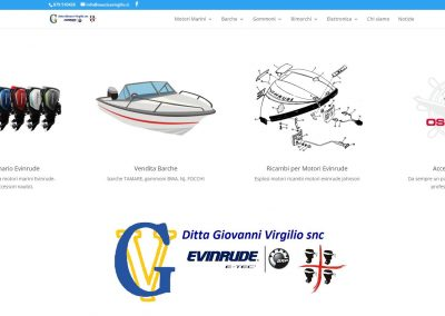 Sito web NauticaVirgilio.it